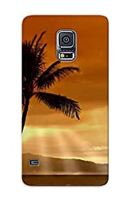 Spanishlogy Design High Quality Obscured Sun Cover Case With Excellent Style For Galaxy S5