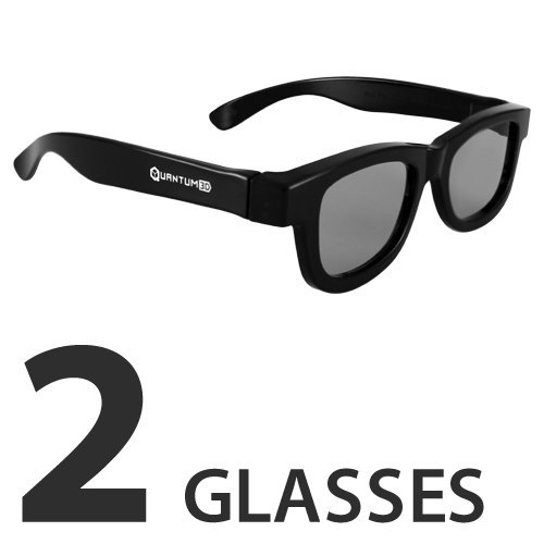 3D Passive Glasses for Movie Theaters, TVs & Projectors