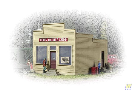 Walthers Cornerstone Series Jim's Repair Shop N Scale for sale  Delivered anywhere in USA