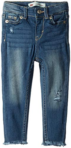 Levi's Baby Girls Super Skinny Fit Jeans, west Lake, 24M