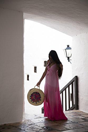 Alma 016 Menorca R Ansa borsa Ansa Blu per Donna Azulon qawUtz