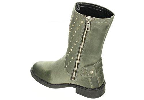 Bartek Girls Leather Long Leg Boots for Winter 57162//1A8 Khaki Little Kids//Big Kids