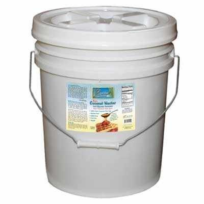 Coconut Secret Raw Organic Coconut Nectar - 5 Gallon by Coconut Secret