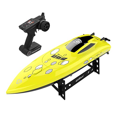 (CMrtew High-Speed RC Boat,25KM/h 2.4Ghz RC Boat Self-Righting Remote Control Electric Toy Boats for Kids Or Adult(Shoping from)