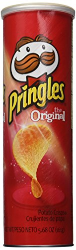 Pringles Super Stack Potato Crisps, Original 5.68 Oz (Pack of 6 Cans)