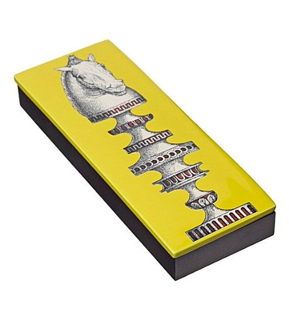 マーチャンダイザーセーター標高Fornasetti木製ボックスand Incense Scacco al Cavallo蓋( 80 Sticks )