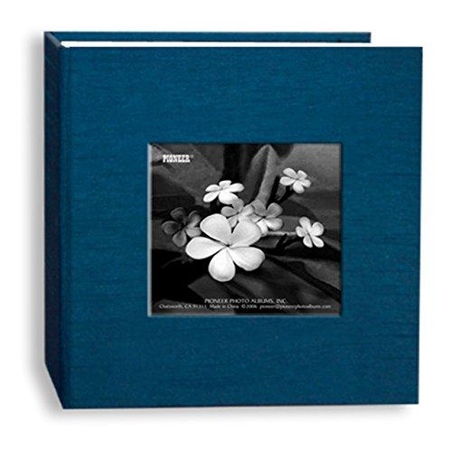 Pioneer DA-100SKF Silk Fabric Frame Photo Album, 100 Pockets Hold 4