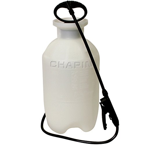 Chapin 20002 2-Gallon Poly Lawn, Garden, And Multi-Purpose Or Home Project Sprayer Great For Fertilizers, Weed Killers And Common Household Cleaners, 2-Gallon (1 Sprayer/Package) - Polyethylene Tank Compression Sprayer
