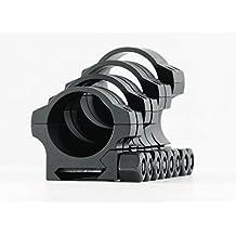 NightForce Standard Duty Riflescope Ring Set,Black,30mm,.9in,Low by NightForce