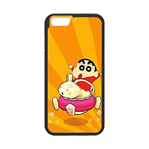 Crayon Shin-chan iPhone 6 Plus 5.5 Inch Cell Phone Case Black Jfmak