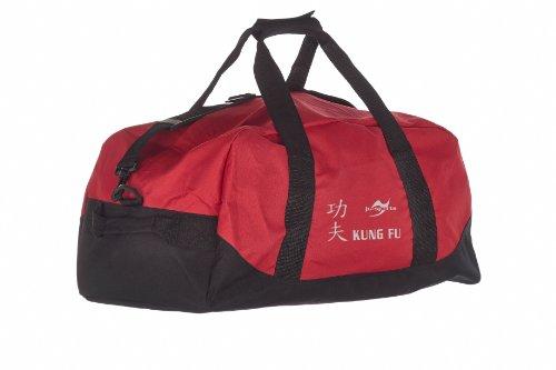 Kindertasche rot/schwarz Kung Fu IDYMC8D