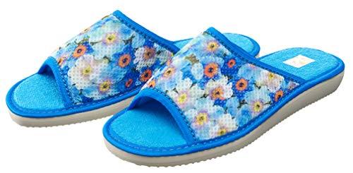 Bosaco Femmes Blue Thermal 1 Pantoufles wT4qZ