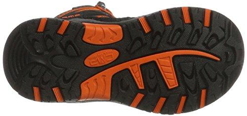 C.P.M. Rigel - Zapatos Unisex Niños Negro (Asphalt)