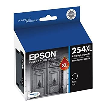 Amazon.com: Epson T254 X L120 (254 x l) DURABrite Ultra High ...