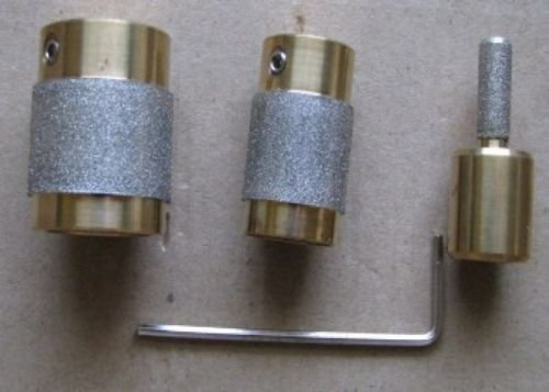 Stained Glass Grinder Head Bit 3 Sizes Quality Brass Core COMPLETE AUCTION SERVICE