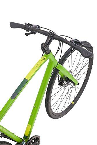 Raleigh Bikes Cadent 2 Fitness Hybrid Bike Green 2019