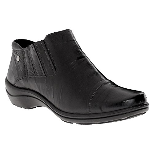Romika Womens Cassie 07 Black Leather Shoes 37 EU by Romika