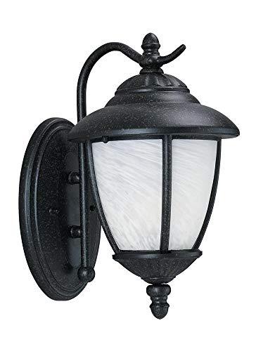 Sea Gull Lighting 84049EN3-185 One Light Outdoor Wall Lantern Forged Iron