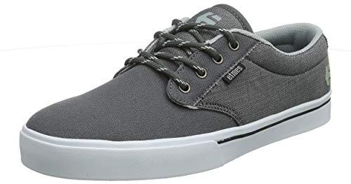 Etnies Men's Jameson 2 ECO Skate Shoe, Grey/White/Silver, 11 Medium US ()