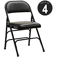 Samsonite Furniture 49752-1050 2800 Series Folding Chairs, 40, Black