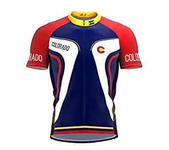 3fcf02511 Image Unavailable. Image not available for. Color  ScudoPro Colorado Bike  Short Sleeve Cycling Jersey for Men ...