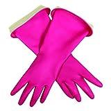 Casabella 46050 Premium Waterblock Gloves, Medium, 1-Pair, Pink