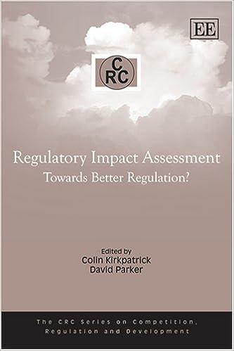 Amazon regulatory impact assessment towards better regulation regulatory impact assessment towards better regulation competition regulation and development fandeluxe Images