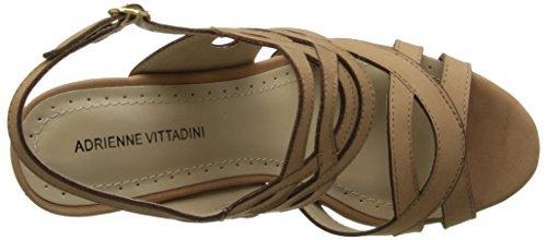 ADRIENNE VITTADINI Footwear Womens Camber Wedge Sandal Terracotta ETNWNtp