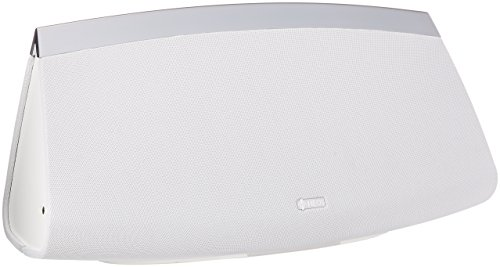 HEOS 7 Premium Wireless Speaker with Multicolor LED Status Indicator & Volume Control for Kitchens, Patios, Large Rooms| Online Music Streaming via Wi-Fi & Bluetooth| Works with Amazon Alexa - White