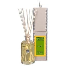Votivo Aromatic Reed Diffuser - Bright Leaf Tobacco No. 47R