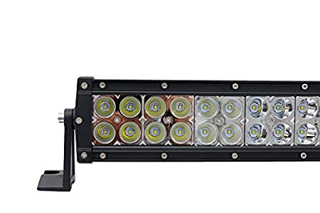 1/ x 80/ cm 180/ W gebogen LED Spot Lightbar Wasserdicht Bright Off Road LKW Bus Traktor