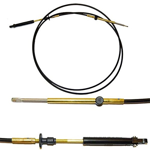 (Teleflex OMC Type 479 Throttle Shift Control Cable, 12FT)