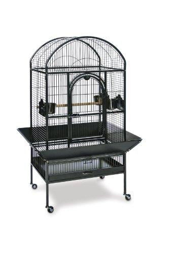 Prevue Pet Products Medium Dometop Bird Cage 3162BLK, Black Hammertone, My Pet Supplies