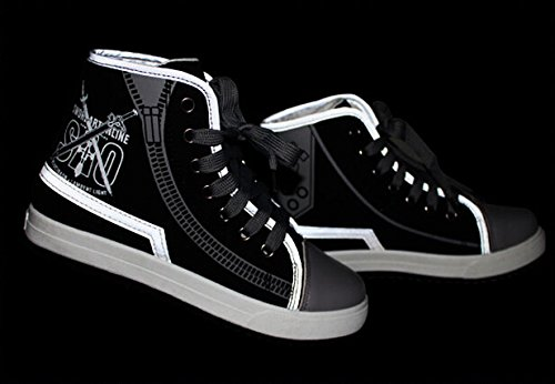 Art Shoes Online SAO Shoes Sneakers Luminous 2 Sword Cosplay Canvas 5qnSf