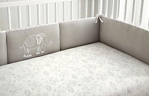 Levtex Baby Baby Ely 4 Piece Crib Bumper Set [並行輸入品]   B07JVBNYDH