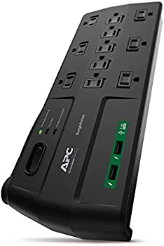 APC P11U2 11-Outlet Surge Protector Power Strip with USB Charging Ports
