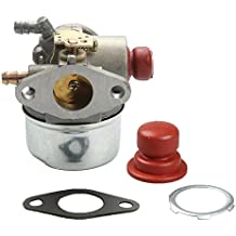 Butom 640025 Carburetor with primer bulb for Tecumseh 640025A 640025C OH195XA 5.5HP OHH50 OHH55 OHH60 OHH65 OHH45 Pressure Washer Snowthrower