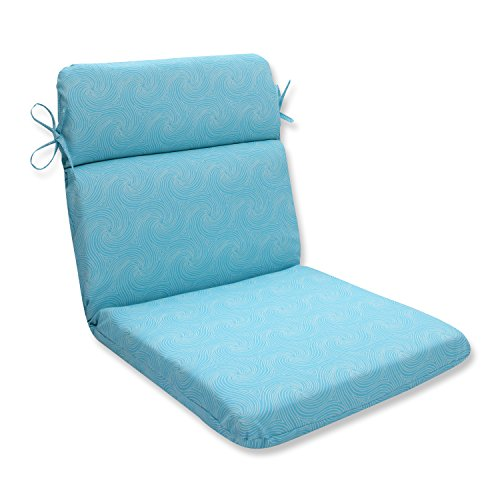 Pillow Perfect Outdoor/Indoor Nabil Caribbean Rounded Corners Chair Cushion price