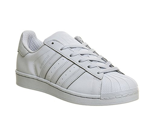adidas Superstar White Black White Gris