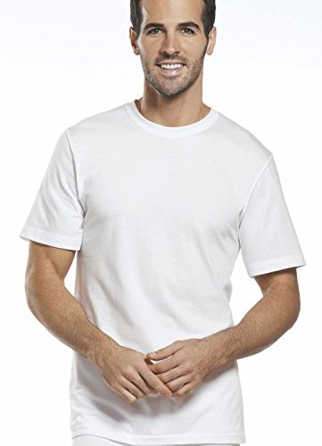 Jockey Men's T-Shirts Tall Man Classic Crew Neck - 2 Pack (Large (Jockey Large Crewneck T-shirt)