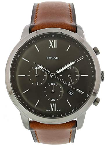 (Fossil Men's Neutra Chrono - FS5512 Brown One Size)