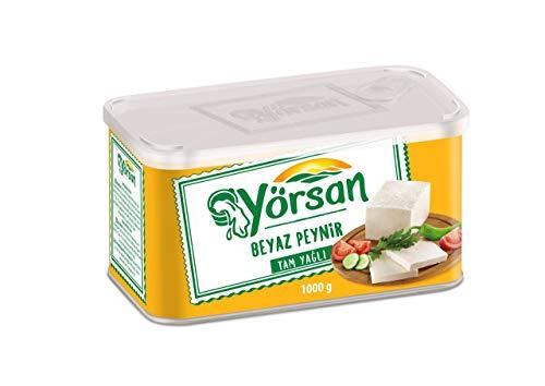 Yorsan Whole Fat White Feta Cheese 1kg