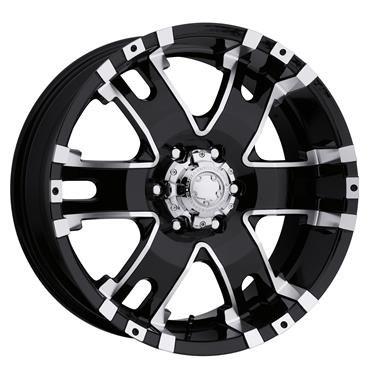 on Matte Black Wheel (18x9