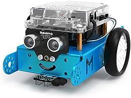 Makeblock mBot Robot Kit, DIY Mechanical Building Blocks, Entry-level Programming Helps Improve Children' s Logical...