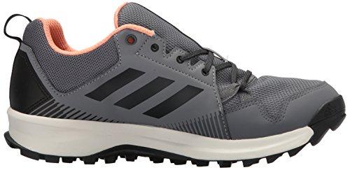 Adidas Outdoor Vrouwen Terrex Tracerocker Gtx W Trail Hardloopschoen Grijs Drie / Carbon / Krijt Koraal