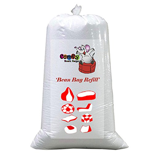 Comfy Bean Bags 2kg Filler Beans Pack (White)