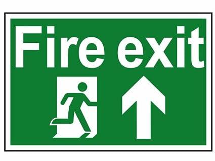Scan 1505 - Cartel de salida de emergencia con texto