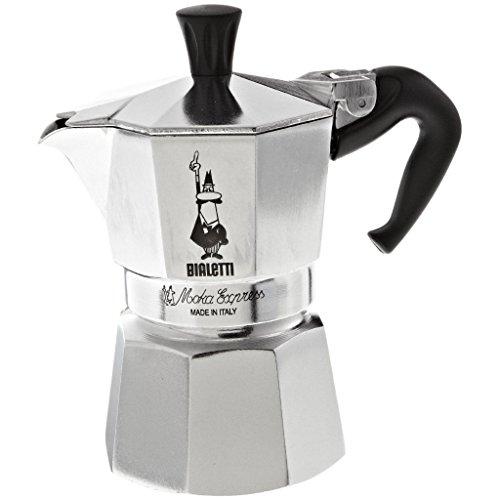- Bialetti 1164 Moka Express Export Espresso Maker, Silver