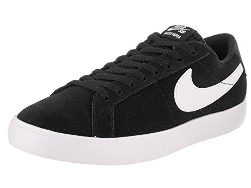NIKE Men's SB Blazer Vapor Black/White White White Skate Shoe 10 Men (Ultra Suede Blazer)