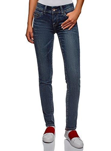 Push Femme oodji Ultra Bleu Jean 7900w Effet Up Skinny P5qXCqwx4
